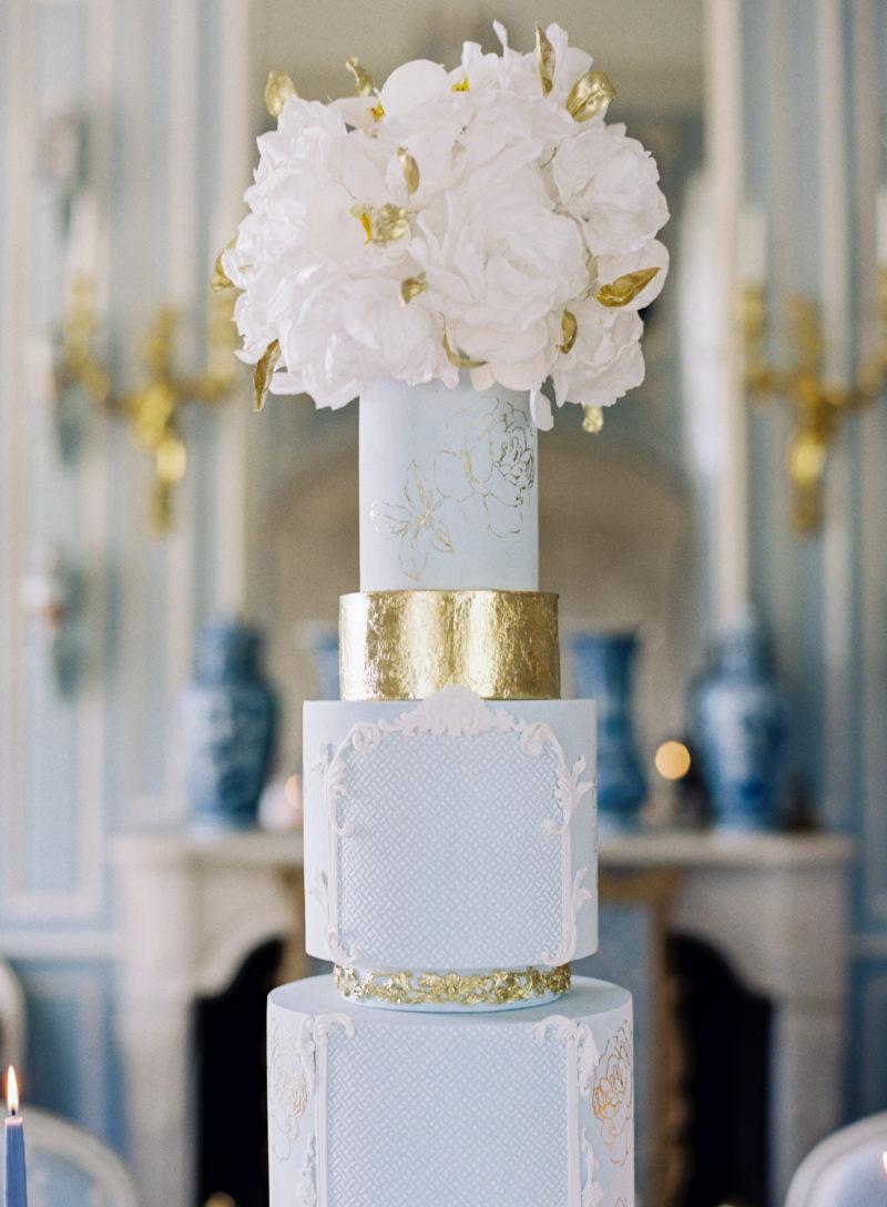 Wedding Cake Haut de gamme au Château de Villette,  Bouchra Sugar Designer
