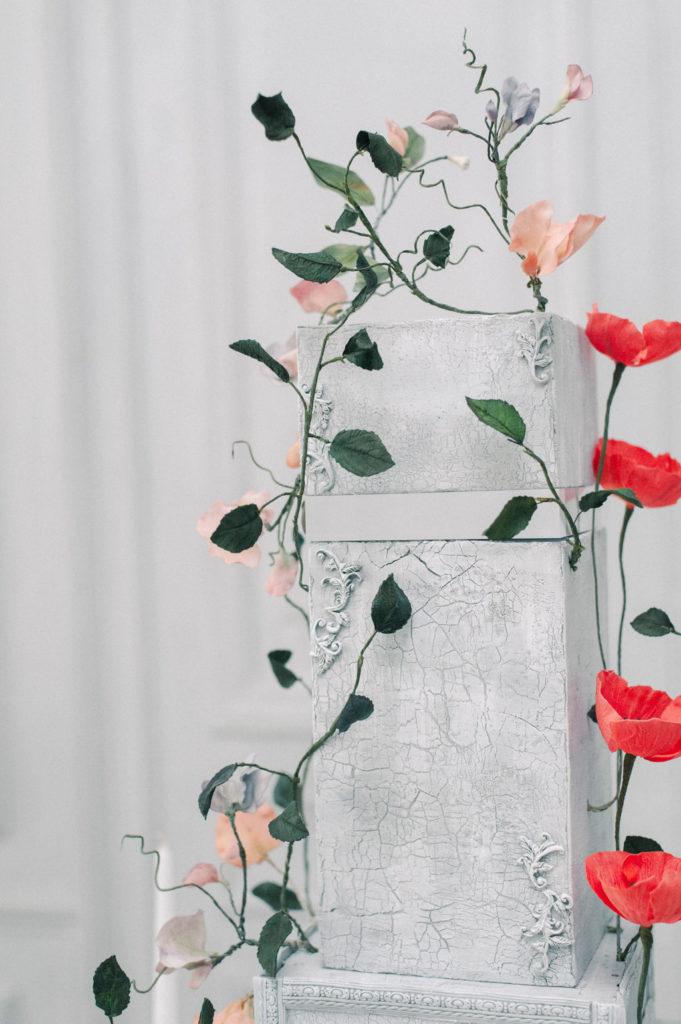 Luxury Wedding Cake enFrance, Art Floral en sucre, ouchra Sugar Designer