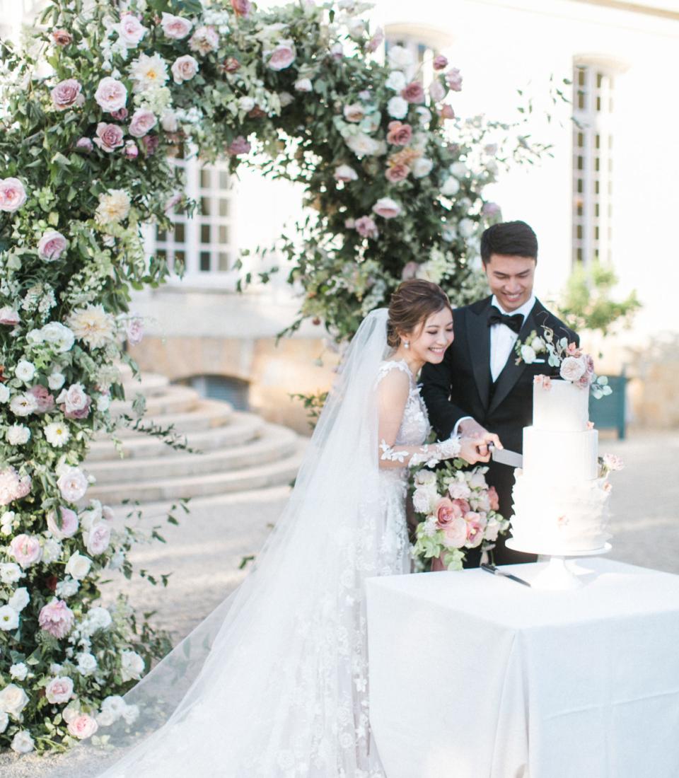 Wedding, Château du Grand Lucé, Bouchra Sugar Designer