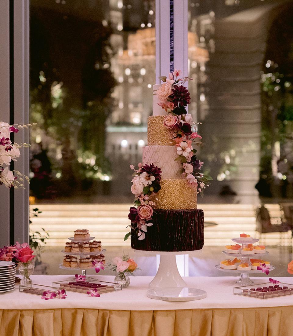 Wedding cake, Ritz Paris, Bouchra Sugar Designer